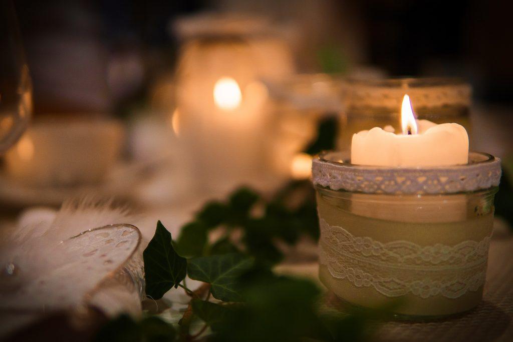 Decoración Mesa boda navidad
